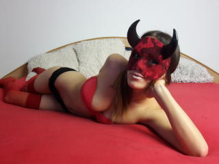 Picture of the sexy profile of BelleBrandy, for a very hot webcam live show !