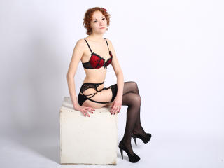 Picture of the sexy profile of CuteRinata, for a very hot webcam live show !